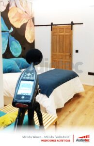 Melida Wines, certificaciones para apartamentos sin ruido