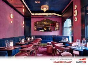 MultiClub Barcelona: diseño y acústica