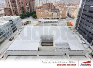 Estación de autobuses de Bilbao libre de ruido.