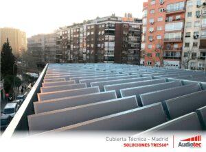 Aislamiento acústico de sistemas de climatización.
