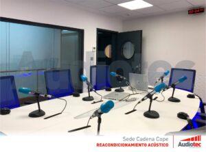 Cadena COPE sala audiovisual