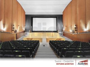 Mejorar la acústica de un teatro aprovechando su rehabilitación.
