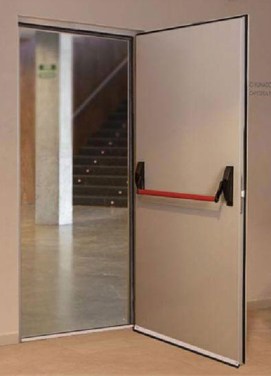 Puerta galvanizada doble hoja interesting puerta - Pintar puerta galvanizada ...