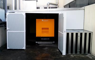 Aislamiento acústico en Salas de Máquinas