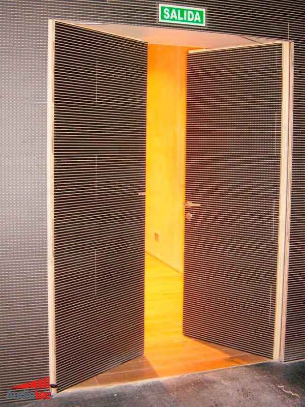Puertas Acusticas De Madera Audiotec